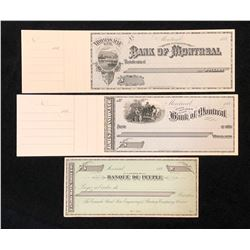Cheques printed by Canada Bank Note Co.