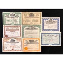 Share Certificates, Mining, Canada