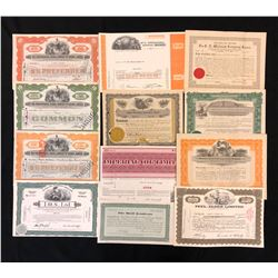 International Nickel Co. Share Certificates.