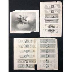 Unusual Engraved Vignettes