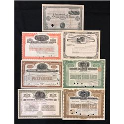 Canadian Mining Share Certificates