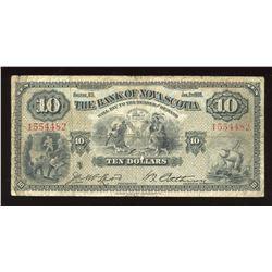 Bank of Nova Scotia $10, 1935