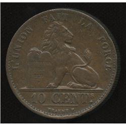 Belgium 10 Centimes, 1832.