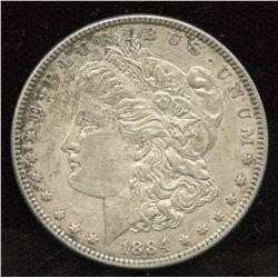 1884 USA Silver Dollar
