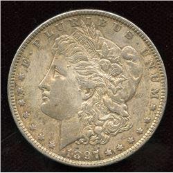 1897 USA Silver Dollar