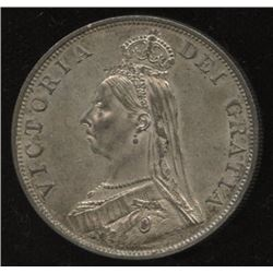 1889 Great Britain Double Florin