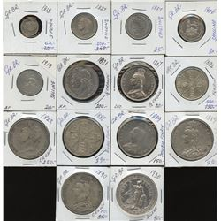 Great Britain Better Quality - Lot of 15 Coins