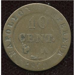 Napoléon Ier - 10 cent 1808 A, Paris