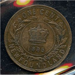 1885 Newfoundland One Cent