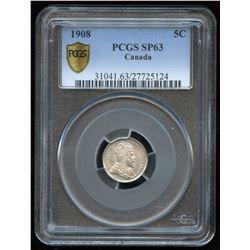 1908 Five Cents - Specimen