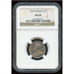 1933 Five Cents