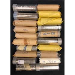 Canadian 5¢ Coin Roll Collection