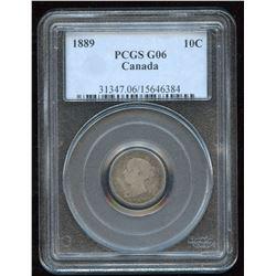 1889 Ten Cents