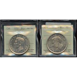 1951 & 1952 (NWL) Silver Dollars