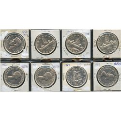 Silver Dollars - Lot of 8