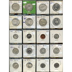 Canadian Coin Collection of 40 Coins