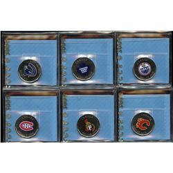 Lot of 6 CCCS Graded 2008 NHL Dollars