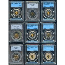 Superb PCCS & CCCS Graded Collection of Toonie Coins - Part 5