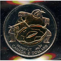 1999 Nunavut Mule Toonie