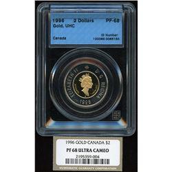 1996 Gold $2 Coin
