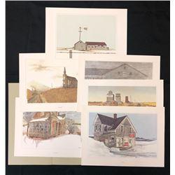Paintings/prints.