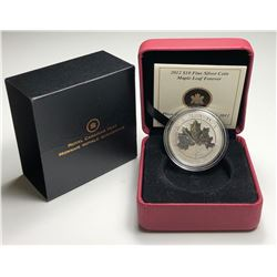 2012 $10 CANADA MAPLE LEAF FOREVER FINE SILVER (TAX EXEMPT)