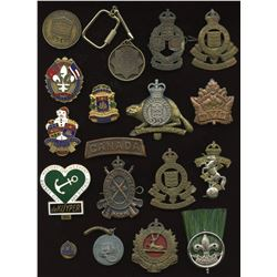 A nice Militaria & Medal Group to a Canadian Veteran