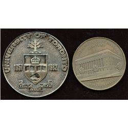 University of Toronto & Metropolitan Life Insurance Company Medals