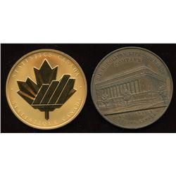 Statistics Canada & Metropolitan Life Insurance Company Medals