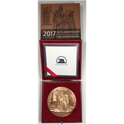 2017 Canada 150 Canadian Confederation Re-strike Medal