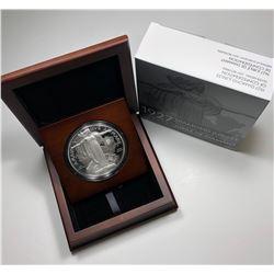 1927 Diamond Jubilee Confederation Medal Re-strike - 10 oz. Pure Silver