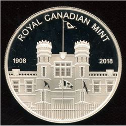 2018 Canada Medallion Fine Silver Proof - Royal Canadian Mint