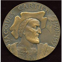 Jacques Cartier Commemorative Bronze Medal