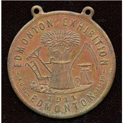Edmonton Exhibition Medal