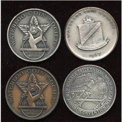 Ontario Numismatic Association Medals