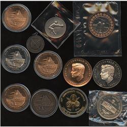 Potpourri Lot of 12 Medals
