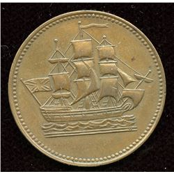 BR 997 Ships Colonies & Commerce Token