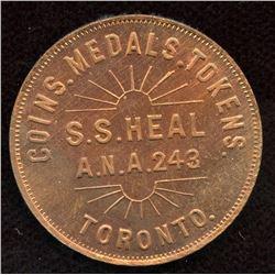 Token -  S.S. Heal/ A.N.A. 243/ Toronto