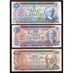 Bank of Canada - Lot of 3 Replacement Notes