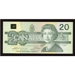 Bank of Canada $20, 1986