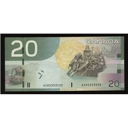 Bank of Canada $20, 2004 Radar