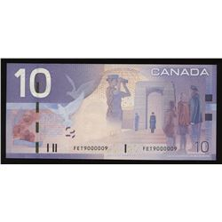Bank of Canada $10, 2005 Radar