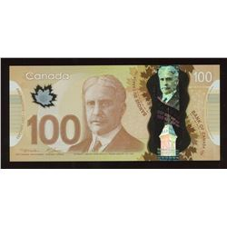 2000 Bank of Canada $100 - Radar