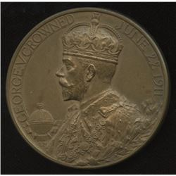 1911 British Medal for the Coronation of King George V