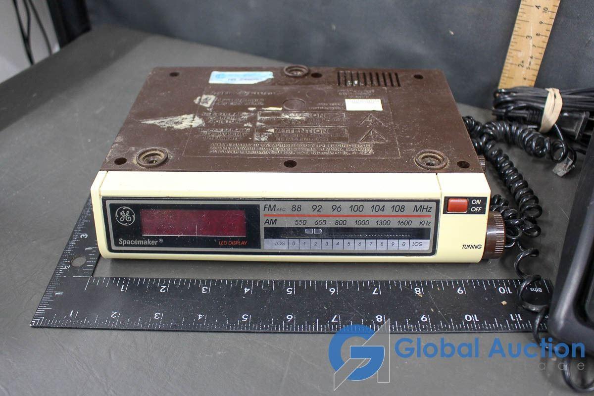 Ge Telephone Clock Radio Emerson Under Cabinet Am Fm Radio Ge