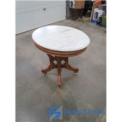 East Lake Marble Top Table