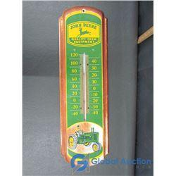 John Deere Thermometer (Metal)