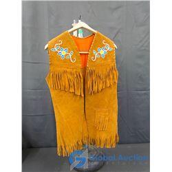 Native Bead Work Vest