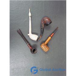 (4) Vintage Tobacco Pipes