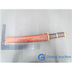 Ornamental Sword in Wooden Sheath